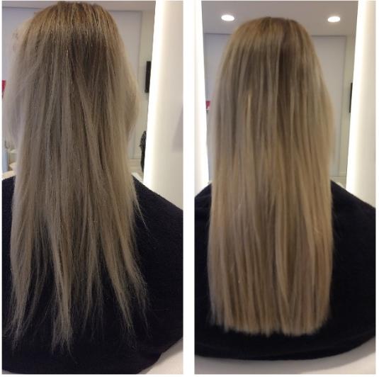 Voor en na foto's | Refresh | Hairextensions salon ...